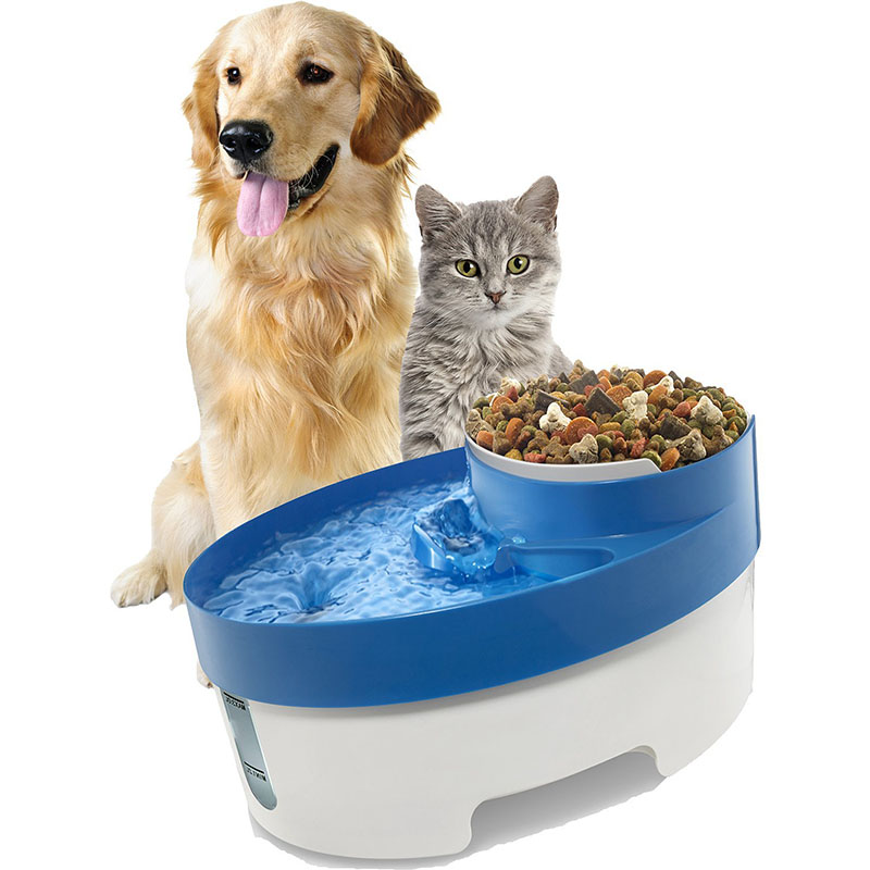 Image of: Drink well Big Dog Multiple Pet Water Fountain
