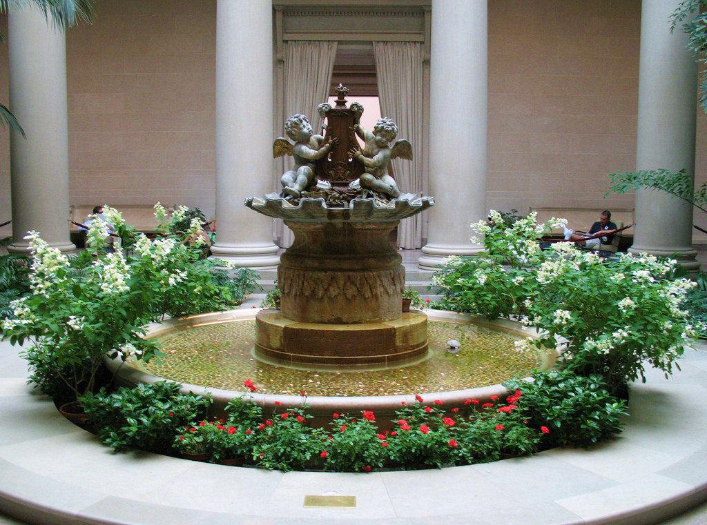 Elegant Cherub Fountain