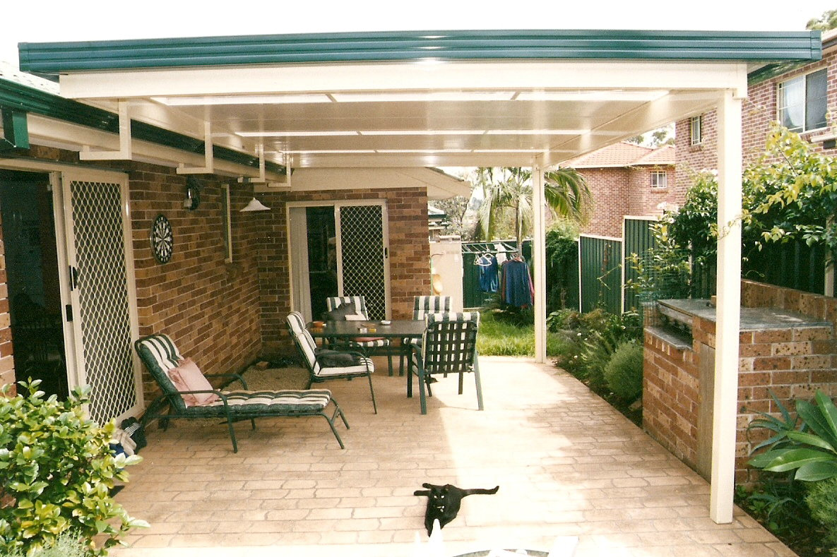Image of: Excellent Awning Roof