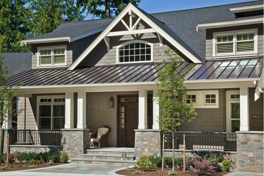 Image of: Exterior Aluminum Roof Paint