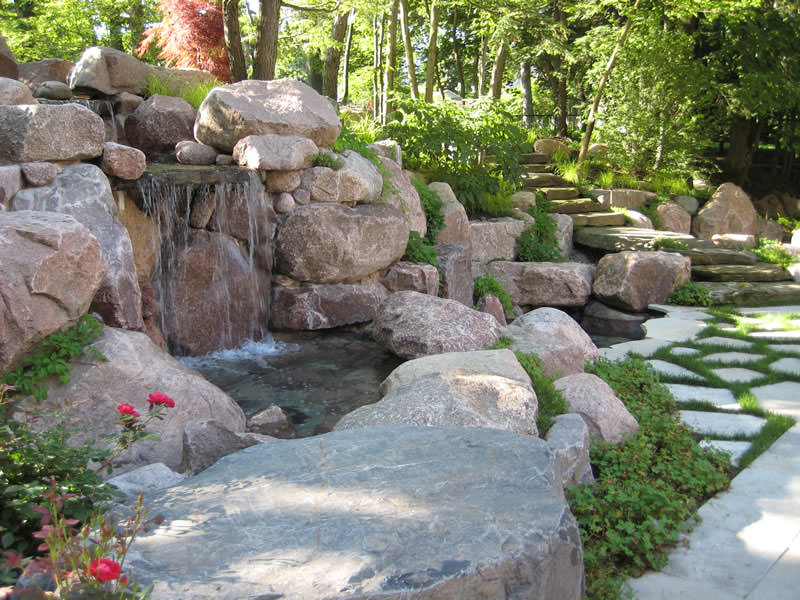 Image of: Famous Boulder Fountain