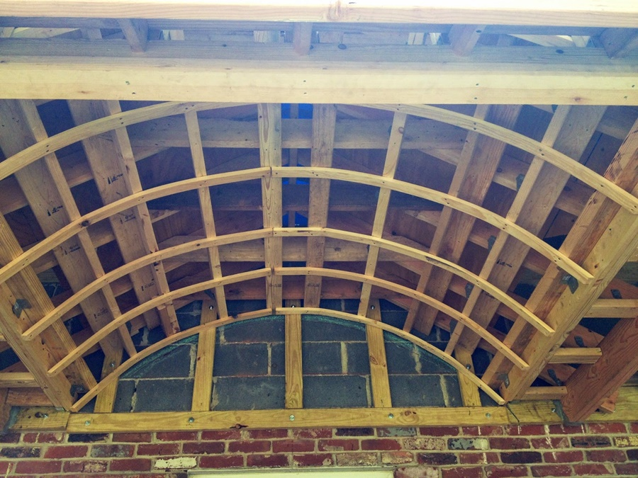 Image of: Frame Barrel Roof