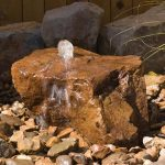 Fun Bubbling Rock Fountain