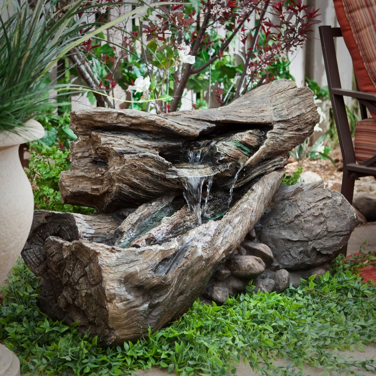 Image of: Garden Alpine Water Fountain