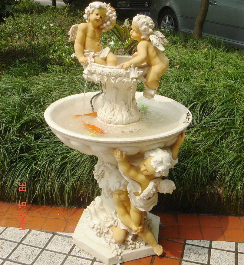 Image of: Garden Angel Water Fountain