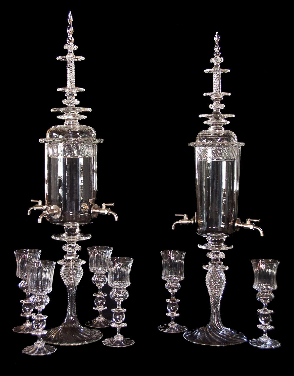 Image of: Glass Absinthe Fountain