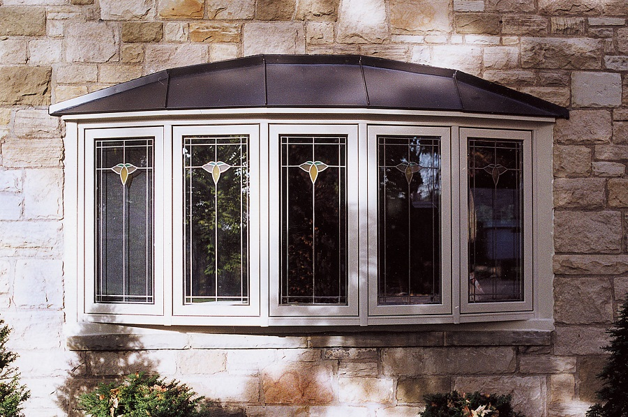 Image of: Glass Bay Window Roof
