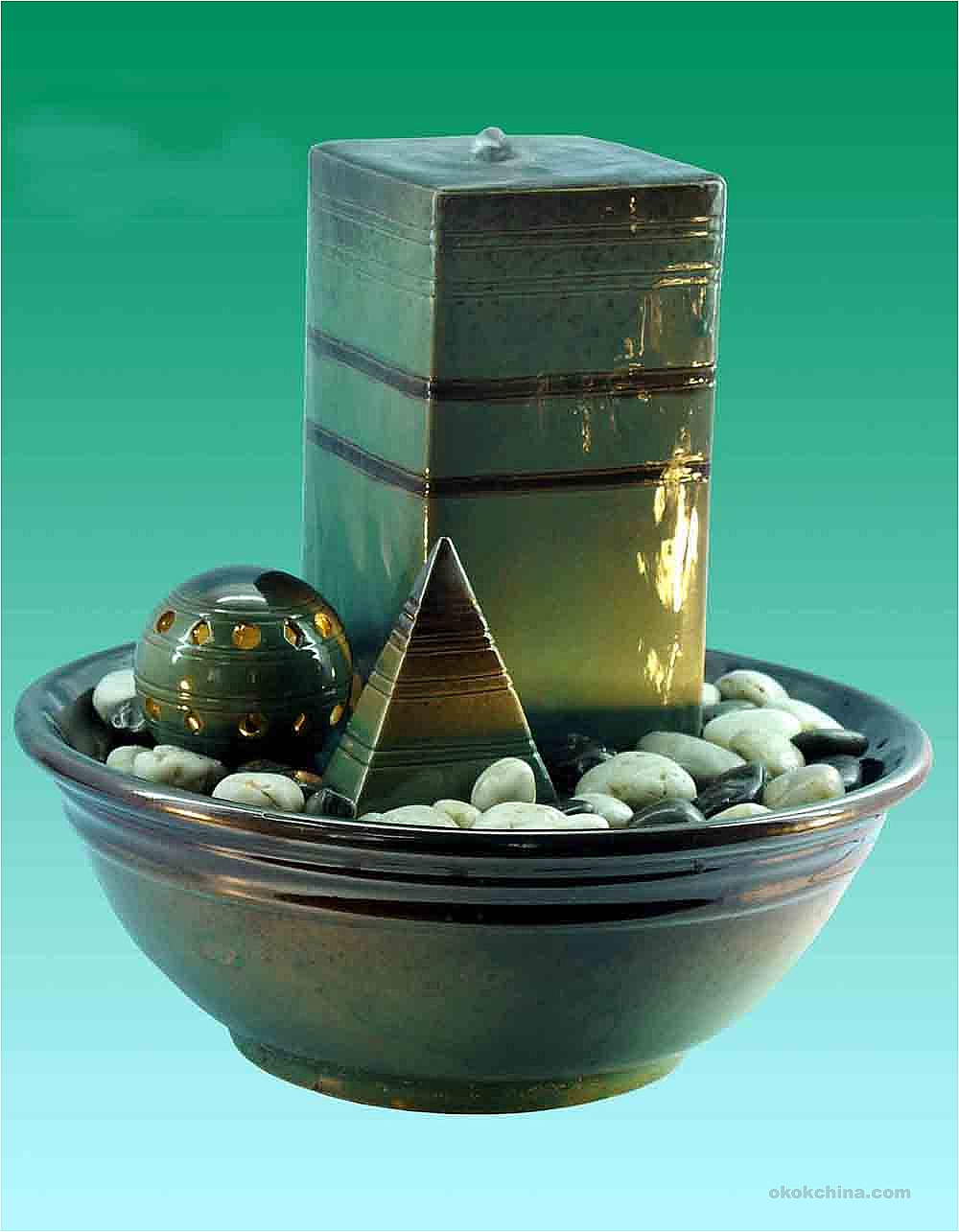 Image of: Glazed Ceramic Fountains