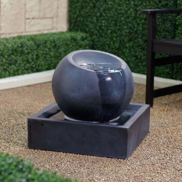 Image of: Globe Contemporary Outdoor Fountains