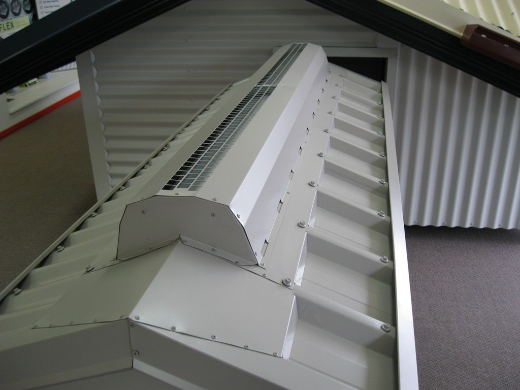 Image of: Good Attic Roof Vents