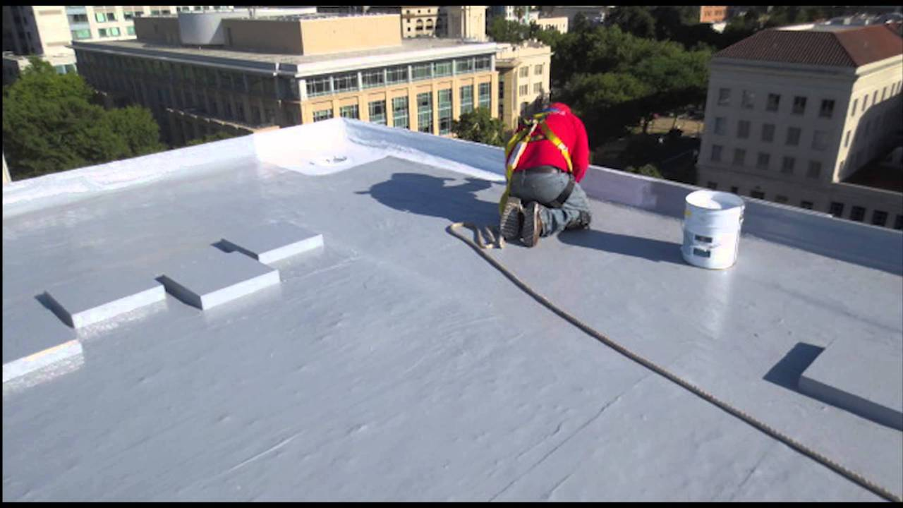 Image of: Good Cool Roof Coating DIY Projects