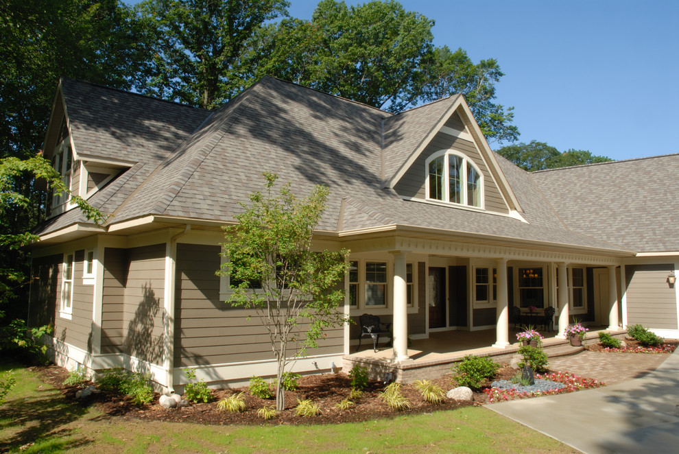 Gray Clay Tile Roofing