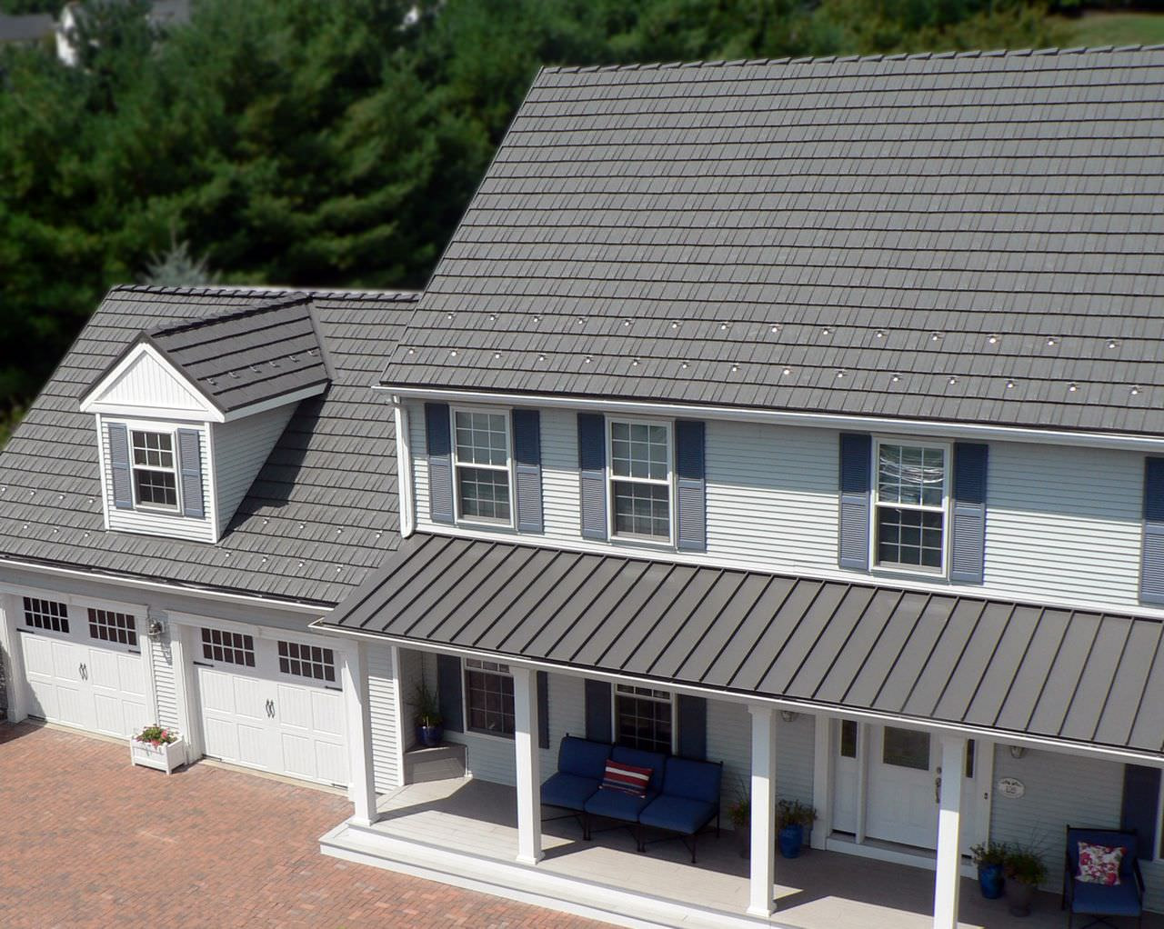 Image of: Grey Aluminum Roof Paint