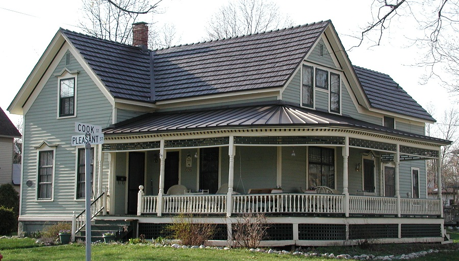 House Aluminum Roof Paint