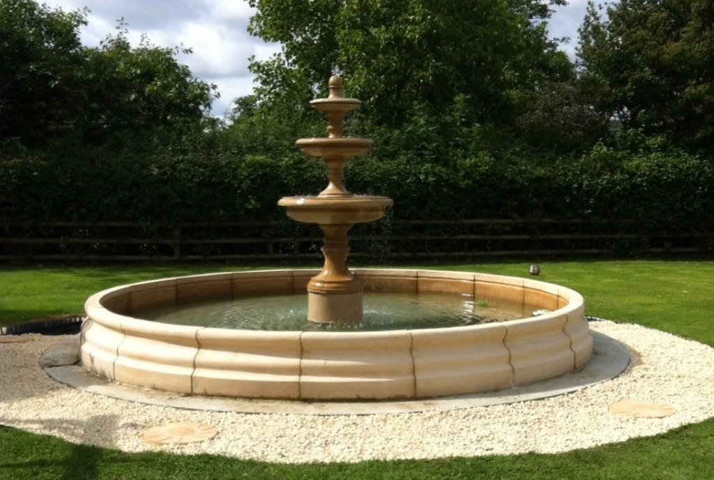Image of: How to Make a 3 Tier Water Fountain