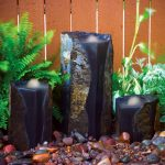 Indoor Basalt Column Fountain