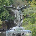 Large Angel Water Fountain
