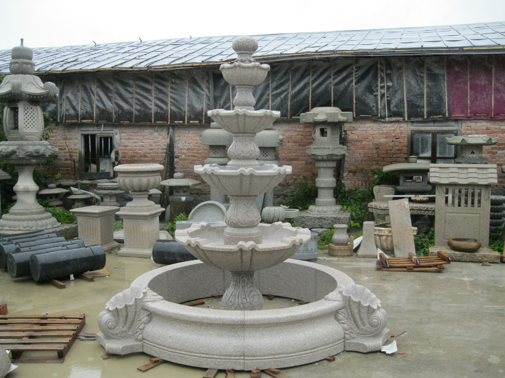 Image of: Large Backyard Fountains for Sale