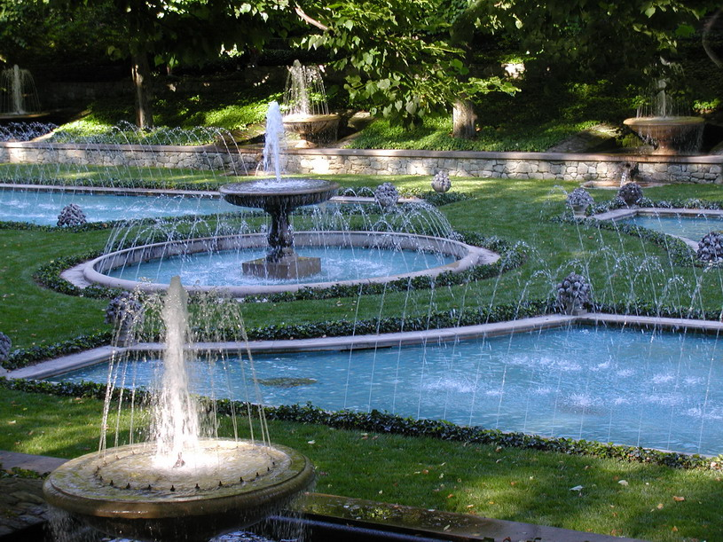 Large Backyard Water Fountains