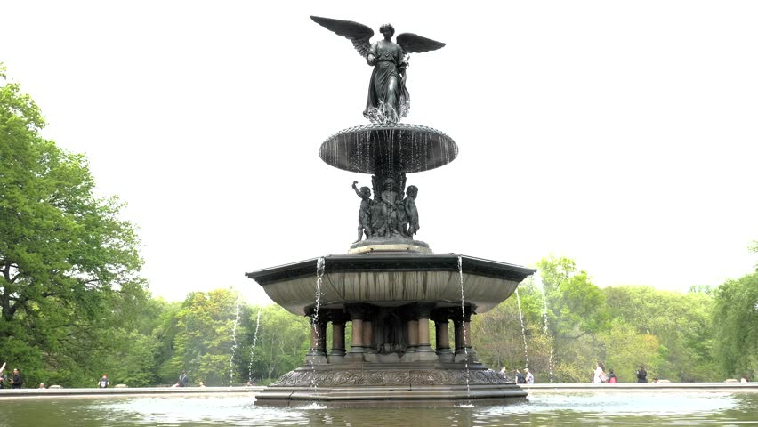 Image of: Large Bethesda Fountain
