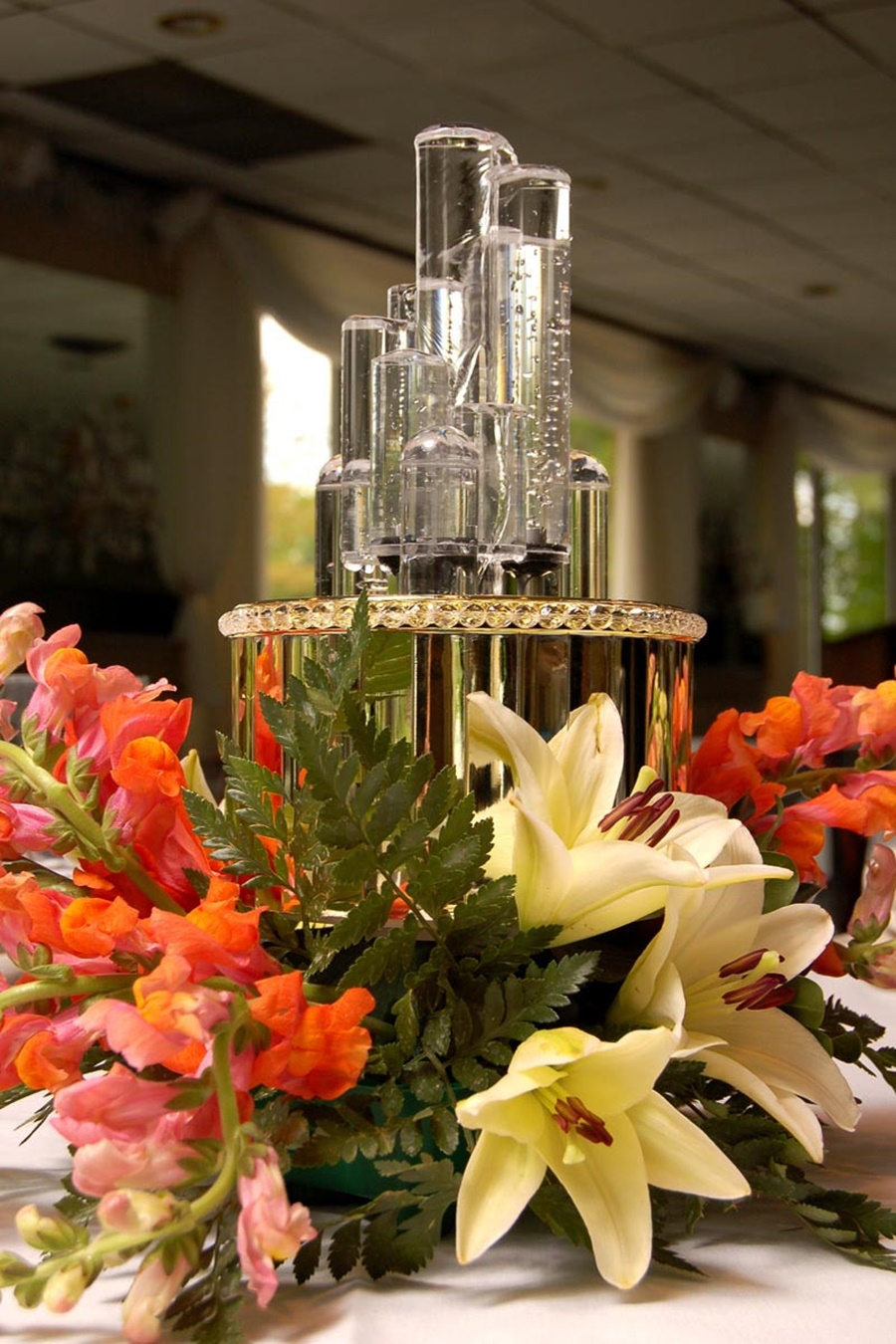Image of: Luxury Battery Operated Tabletop Water Fountain