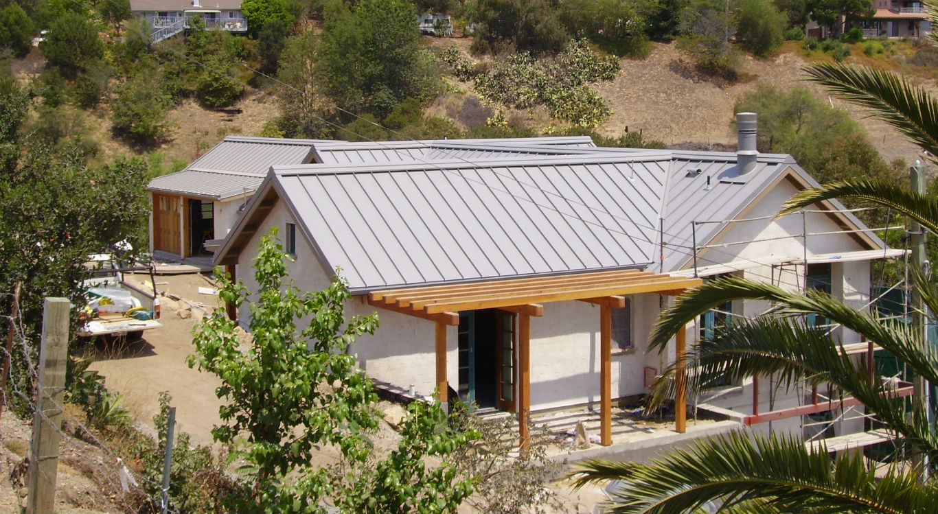 Image of: Metal Alternative Roofing Materials