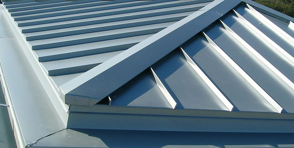 Image of: Metal Cap Sheet Roofing