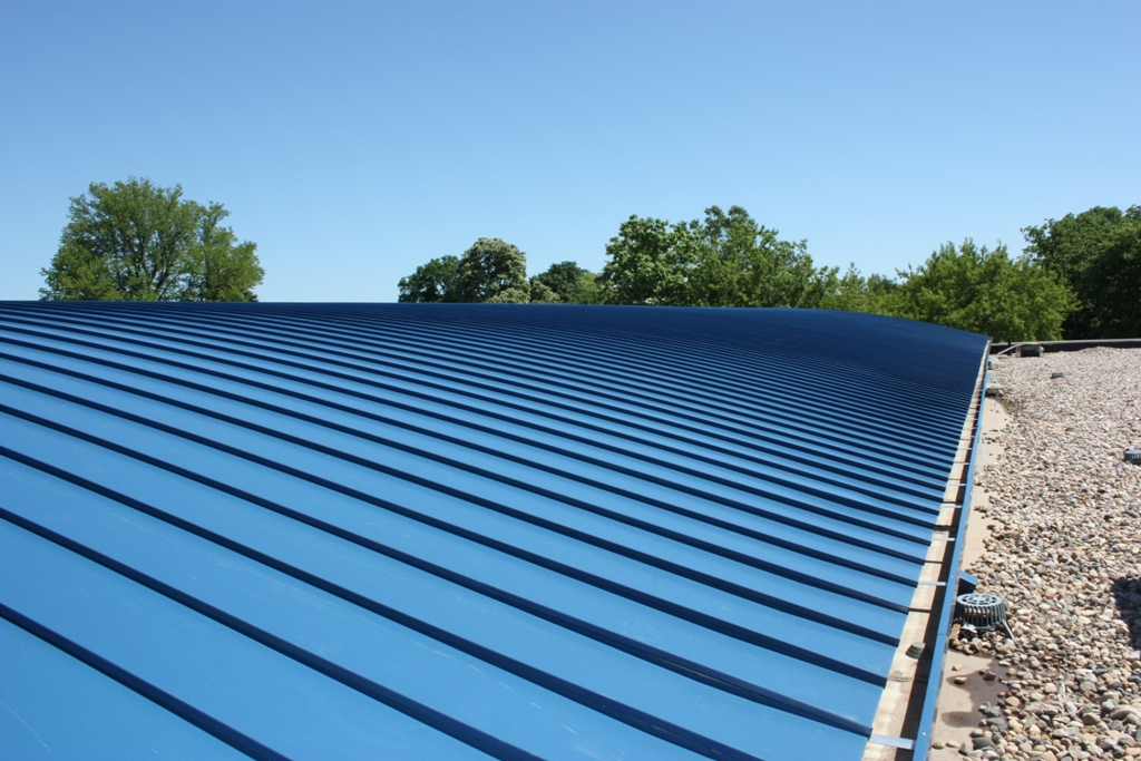 Image of: Modern Aluminum Roofs