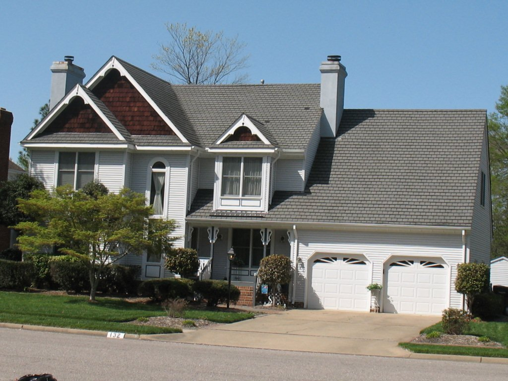 Image of: Modern Architectural Roofing Shingles
