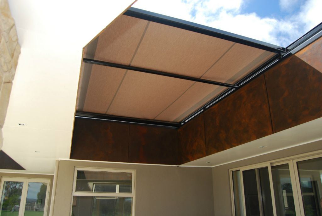 Image of: Modern Awning Roof