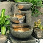 Modern Backyard Fountain