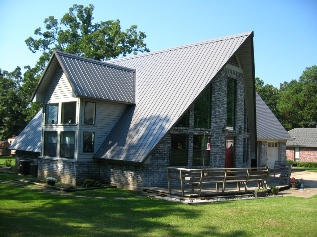 Image of: Modern Bronze Metal Roof