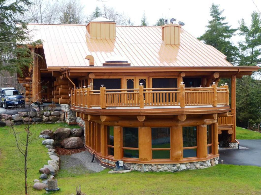 Image of: Modern Building a Roof Over a Deck