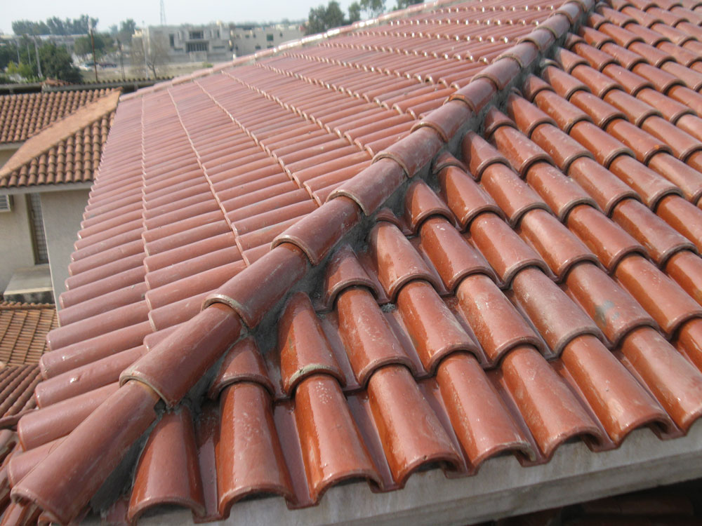 Image of: Modern Clay Roof Tile