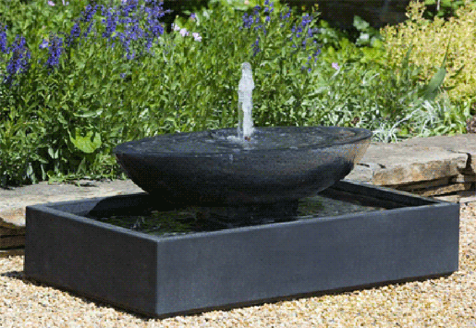 Image of: Modern Contemporary Outdoor Water Fountains