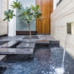 Modern Courtyard Fountains