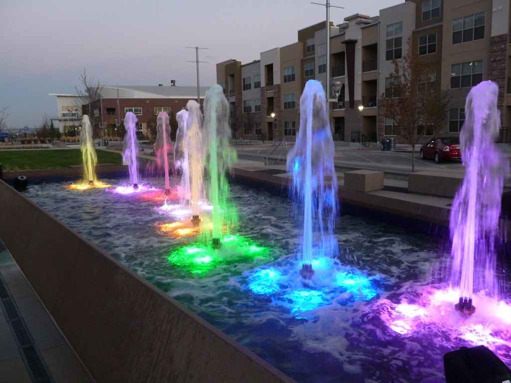 Image of: Musical Commercial Water Fountains