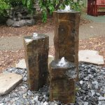 Natural Basalt Column Fountain