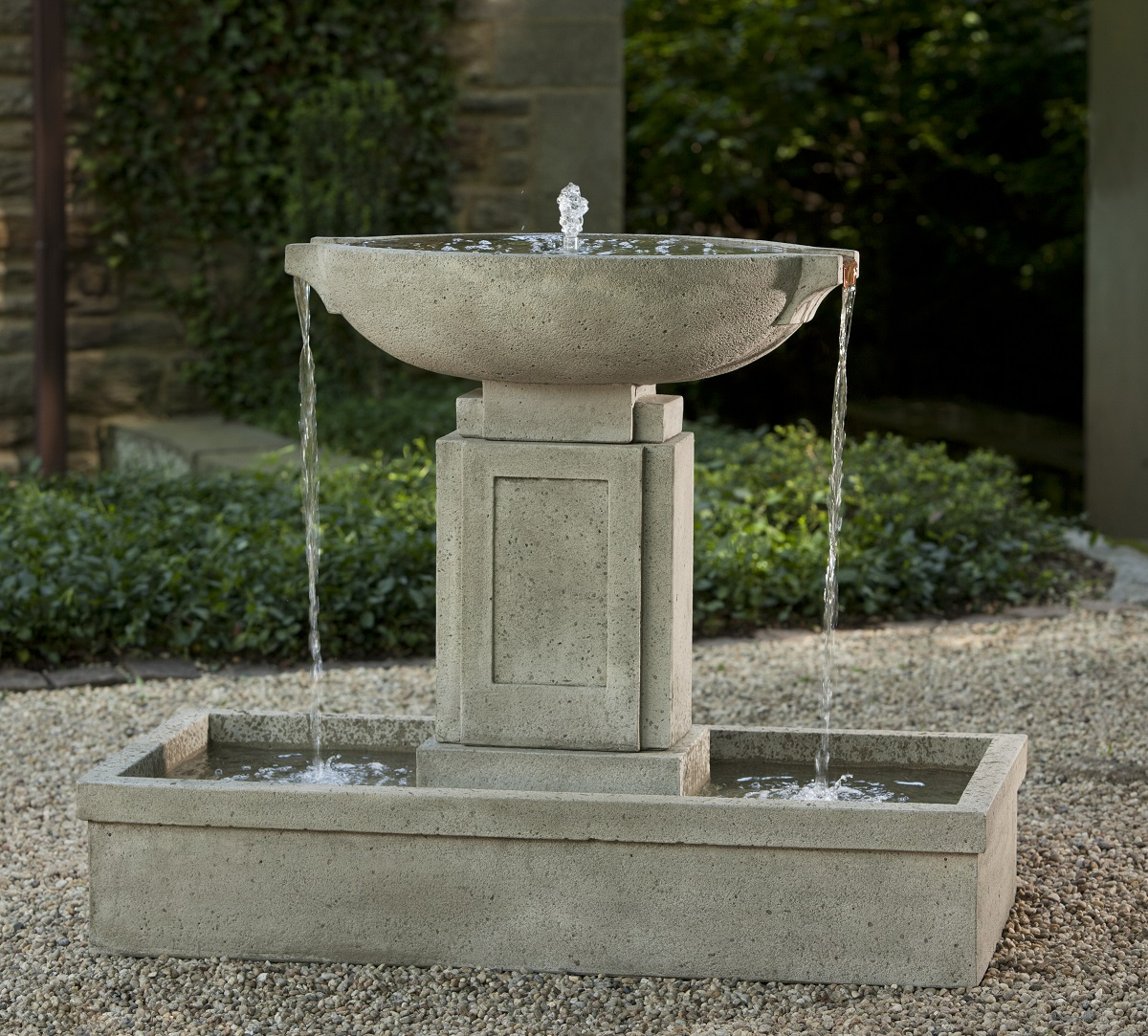 Image of: New Cement Fountains
