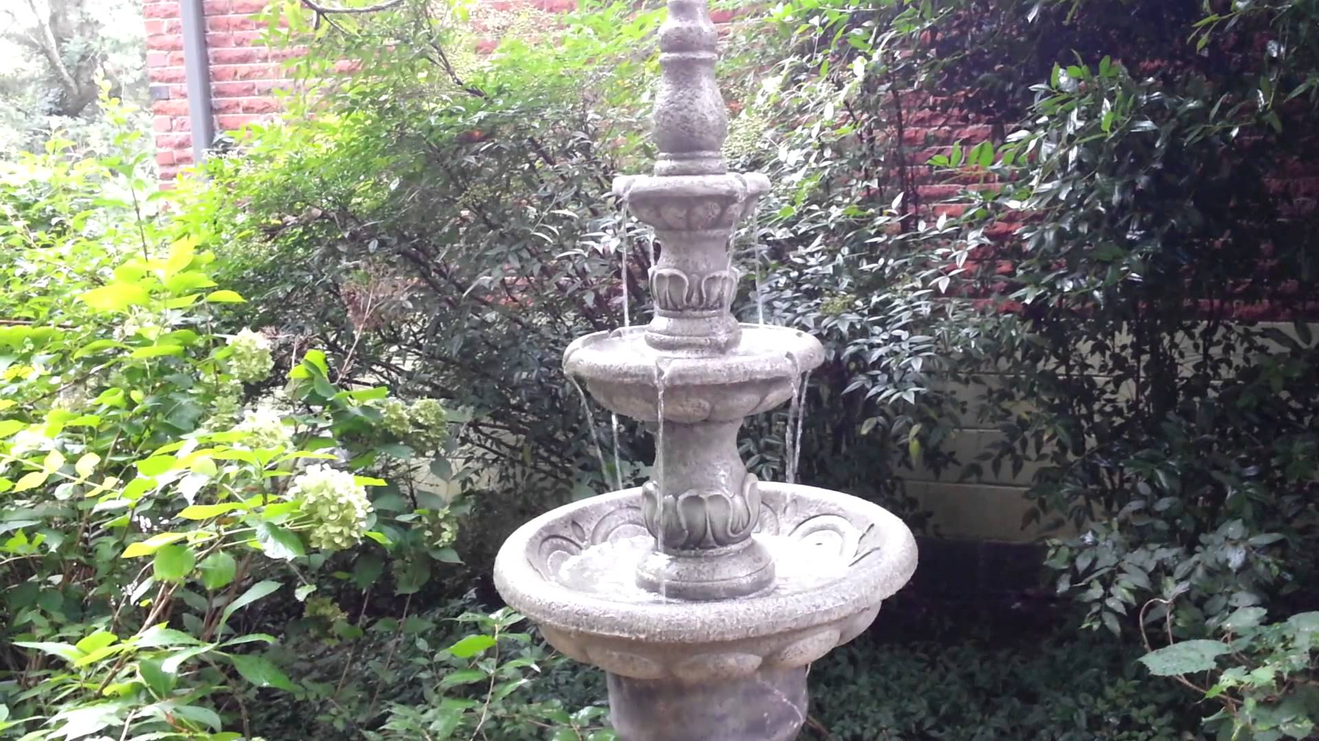 Image of: Nice Cement Fountains