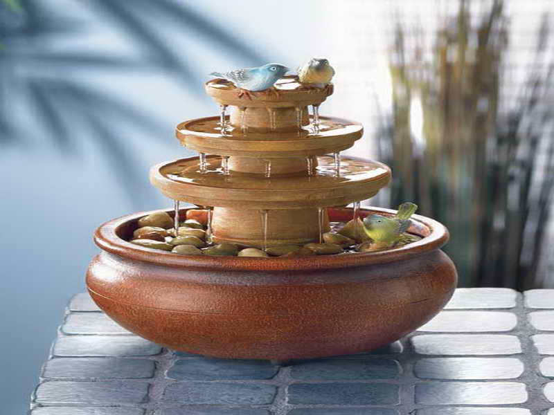 Image of: Nice Desk Fountains
