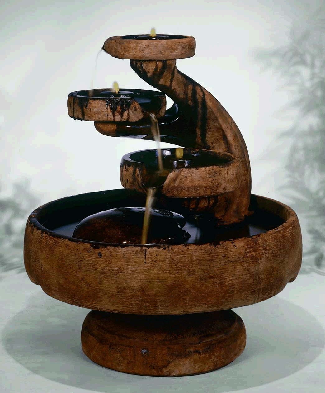 Image of: Outdoor Ceramic Fountains