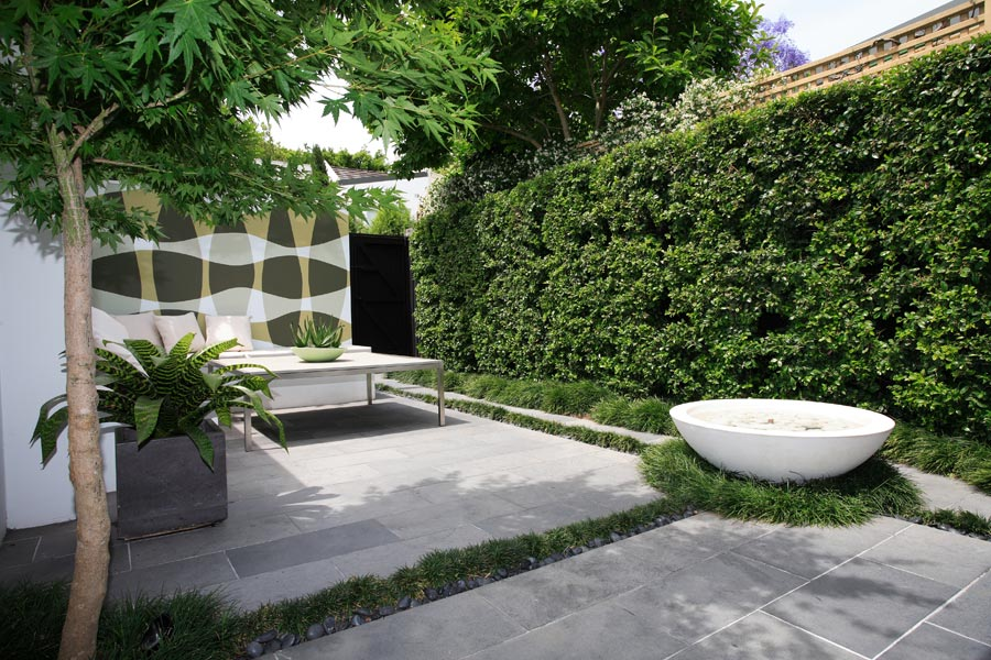 Image of: Patio Courtyard Fountains