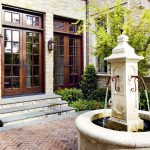 Paver Courtyard Fountains