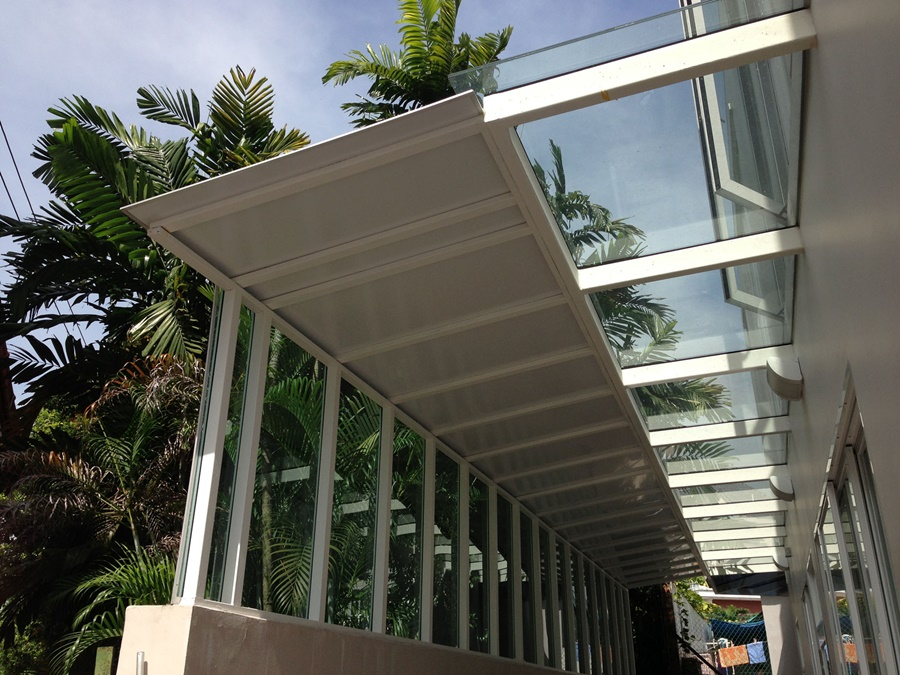 Image of: Picture Composite Aluminum Roofing Panels