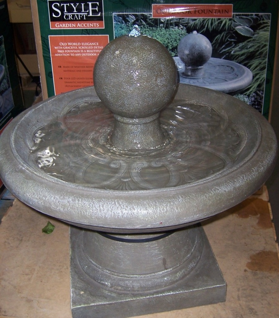 Image of: Picture Costco Water Fountain