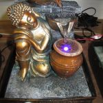 Picture Tabletop Buddha Water Fountain