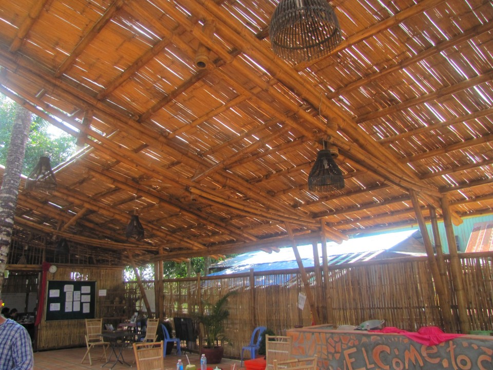 Image of: Popular Bamboo Roof