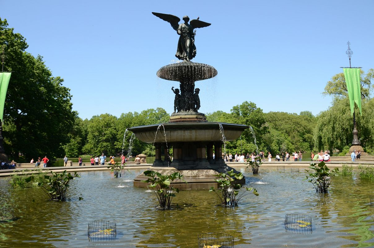 Image of: Popular Bethesda Fountain