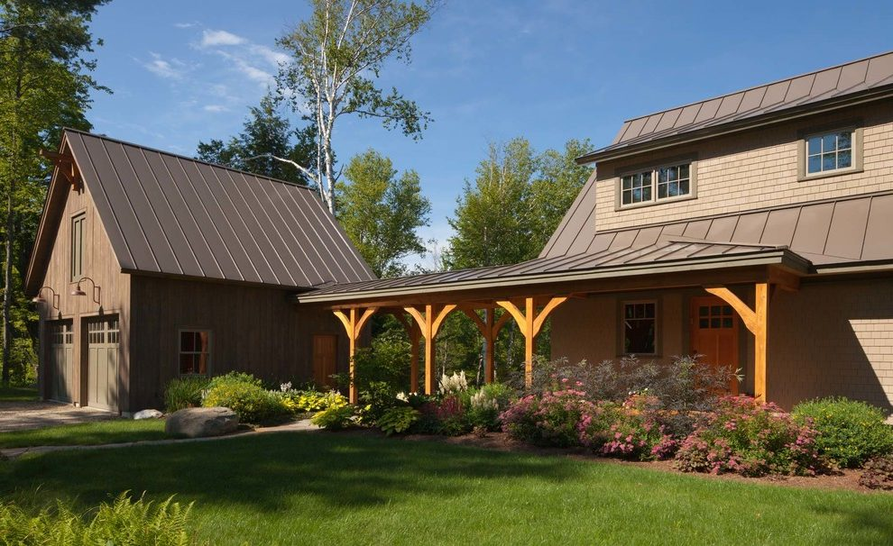 Rustic Brown Metal Roof